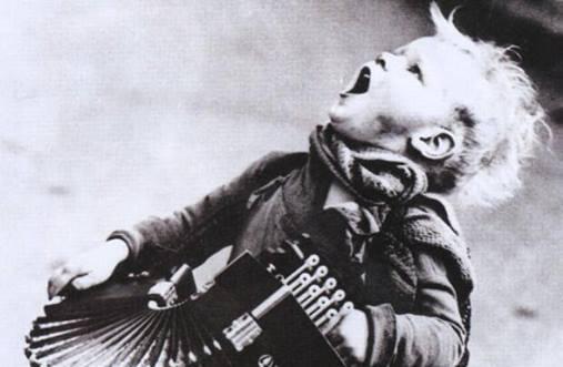 Ung musiker