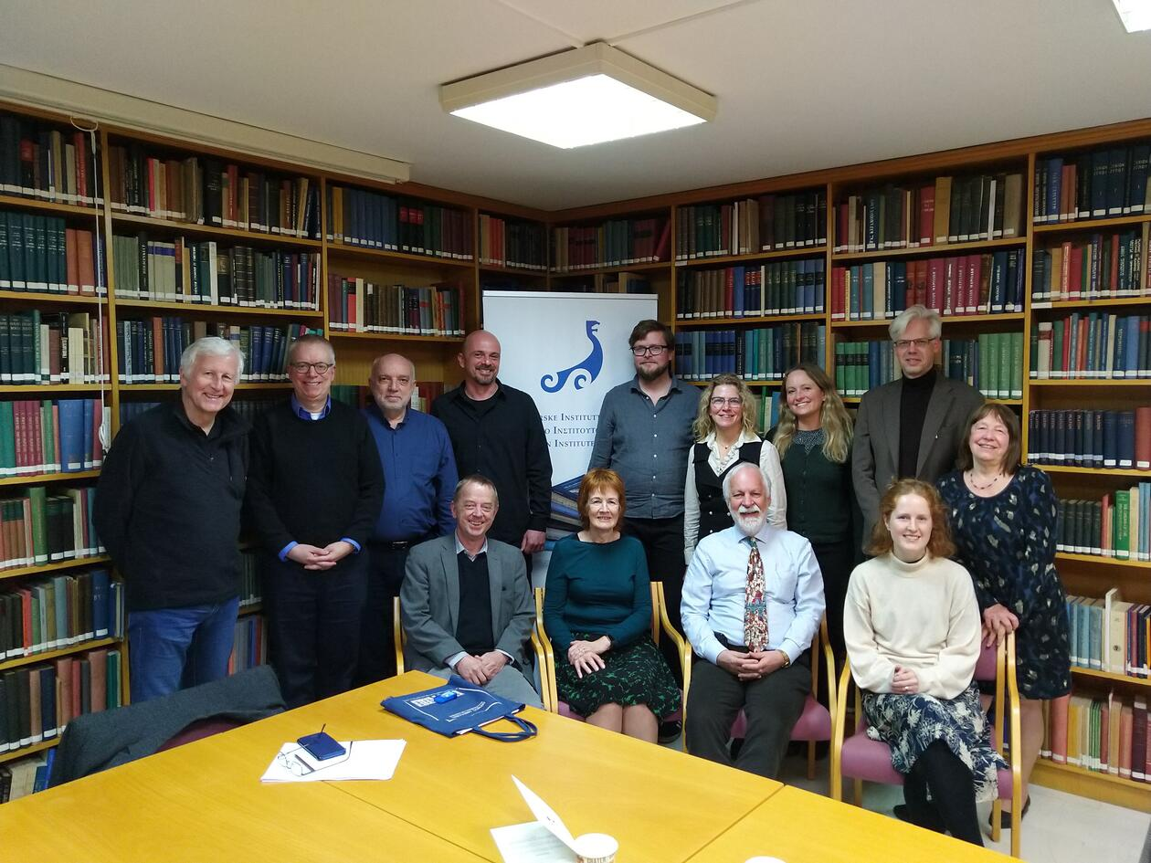 Group picture from the workshop in February 2020