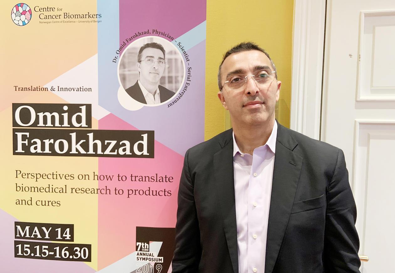 Omid Farokhzad portrett