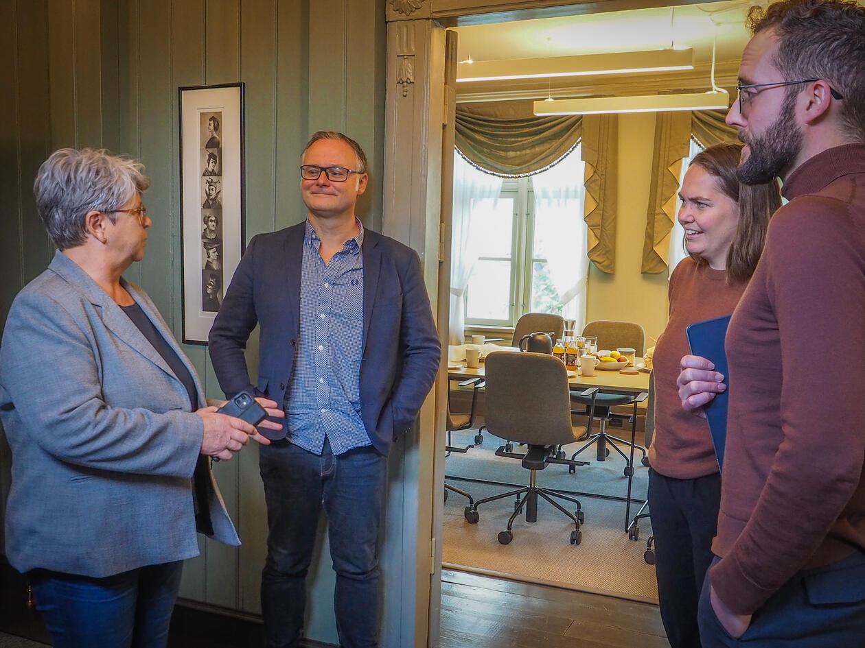 Bjørn Enge Bertelsen fagleg leiar i Holbergprisen