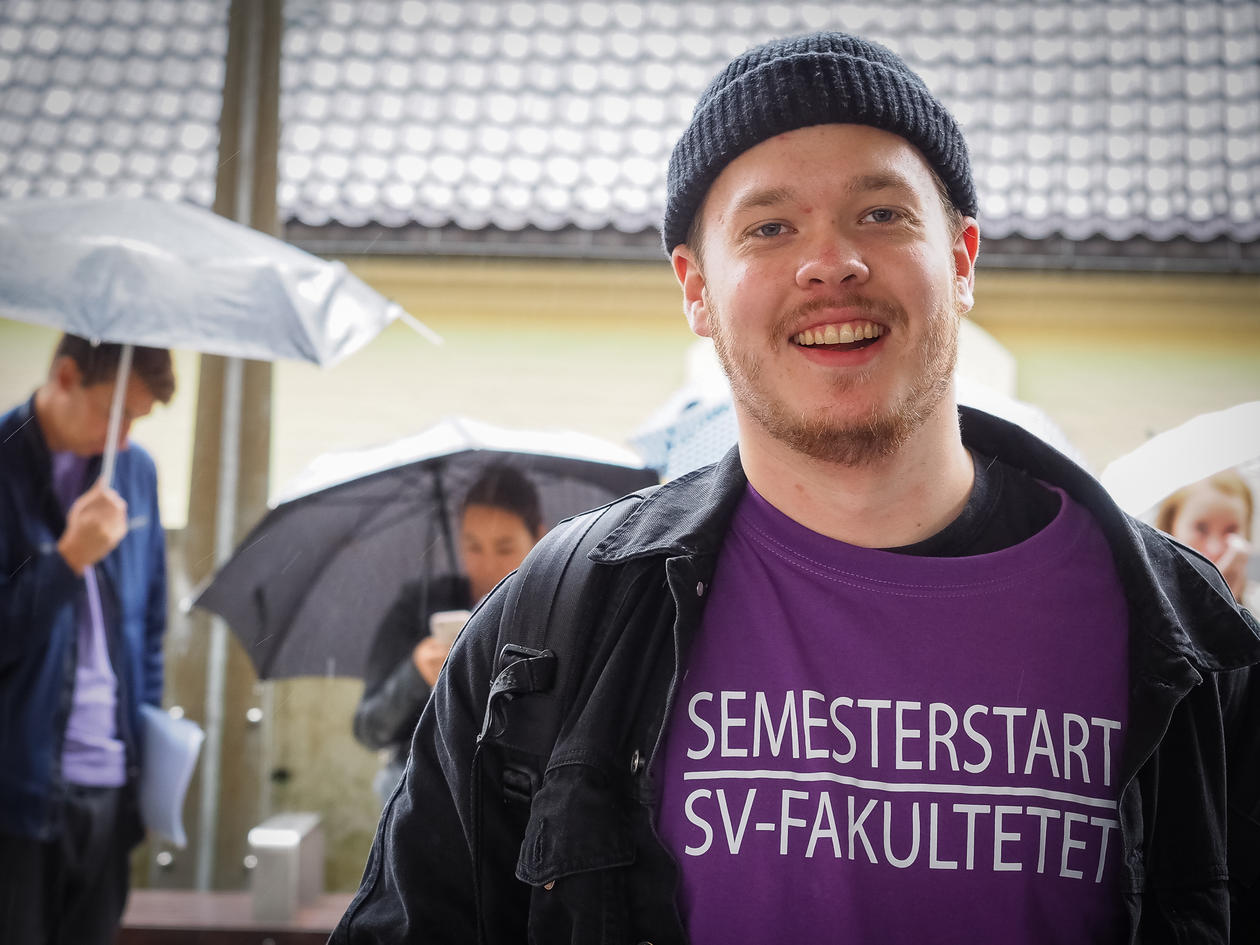 semesterstart T-skjorte