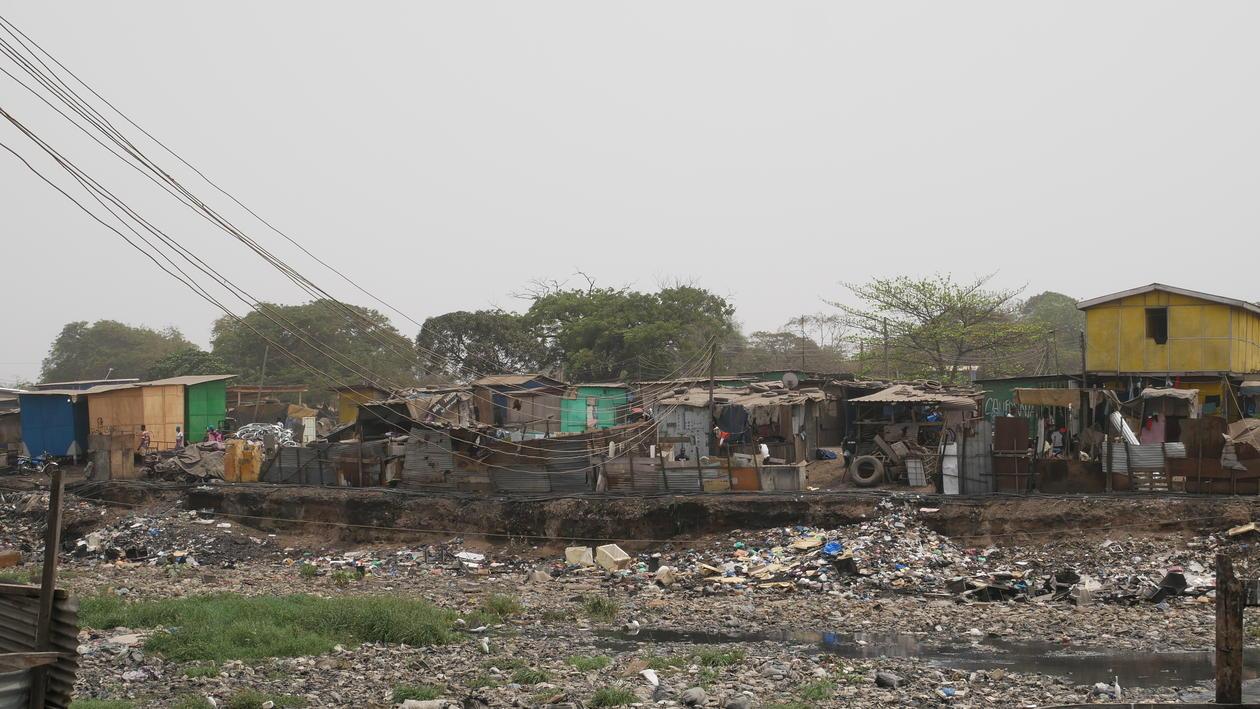 Old Fadama slum