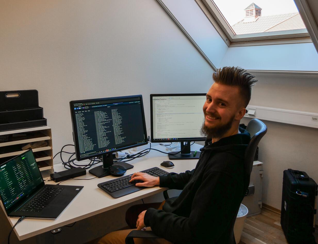 På jobb som etisk hacker og hendelseshåndterer, datasikkerhet