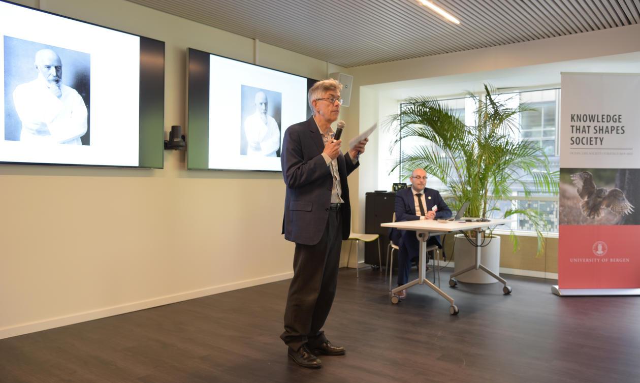 Per Bakke taler i Brussel