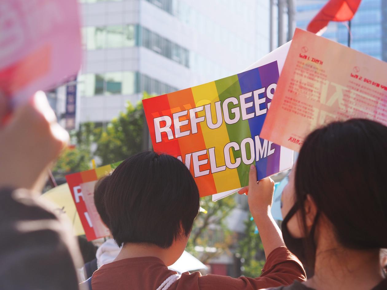 Ønsker flyktninger velkommen