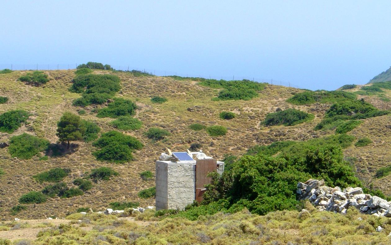 Seismometer in Greece