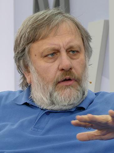 Portrait of Slavoj Žižek