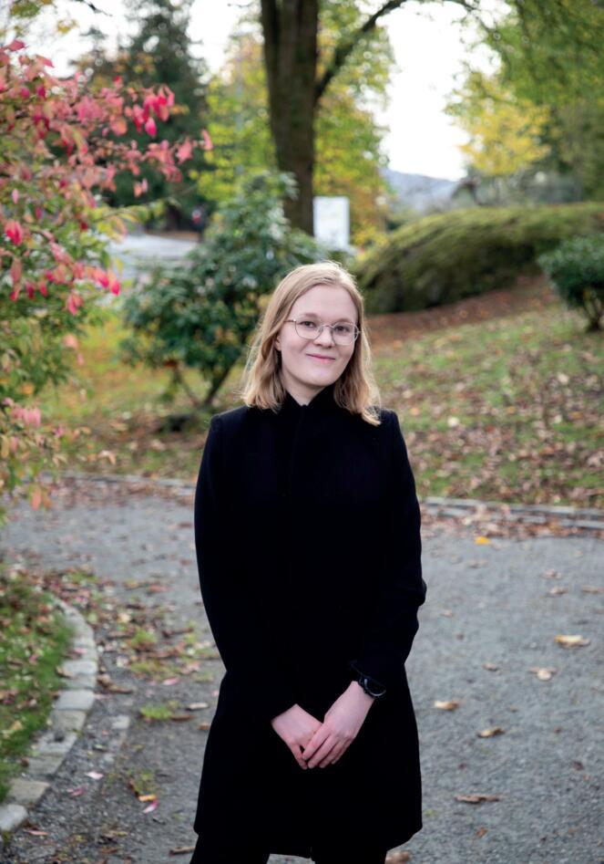 Studentkandidat Stine Sofie Frøysa Farstad