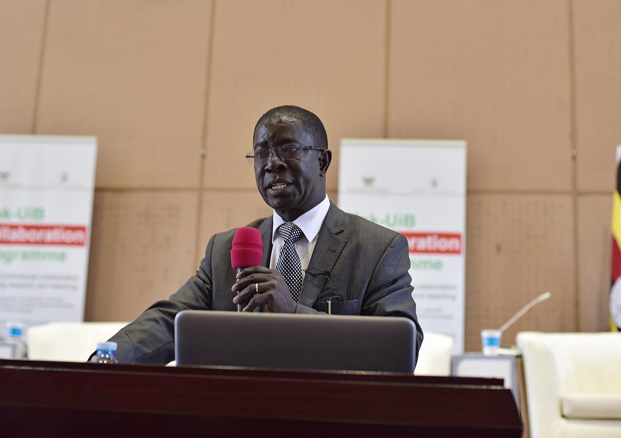 Prof. Edward Kirumira