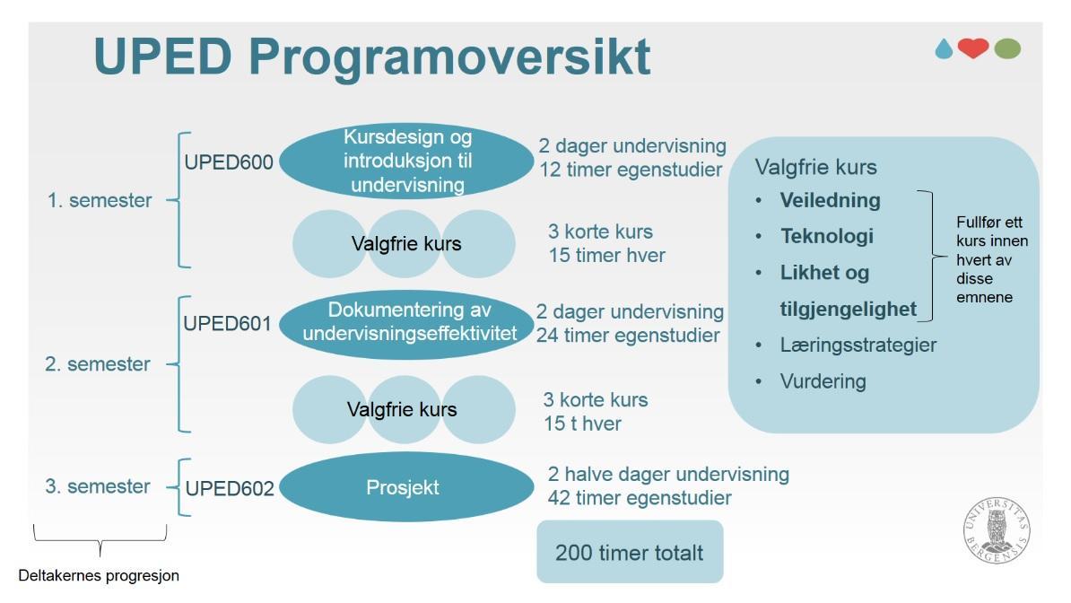Bilde av UPED-programmet