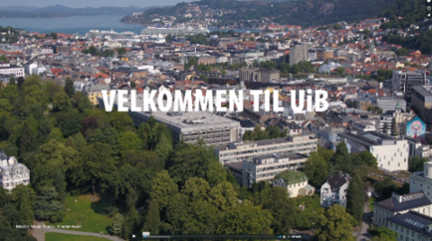 Velkommen til UiB