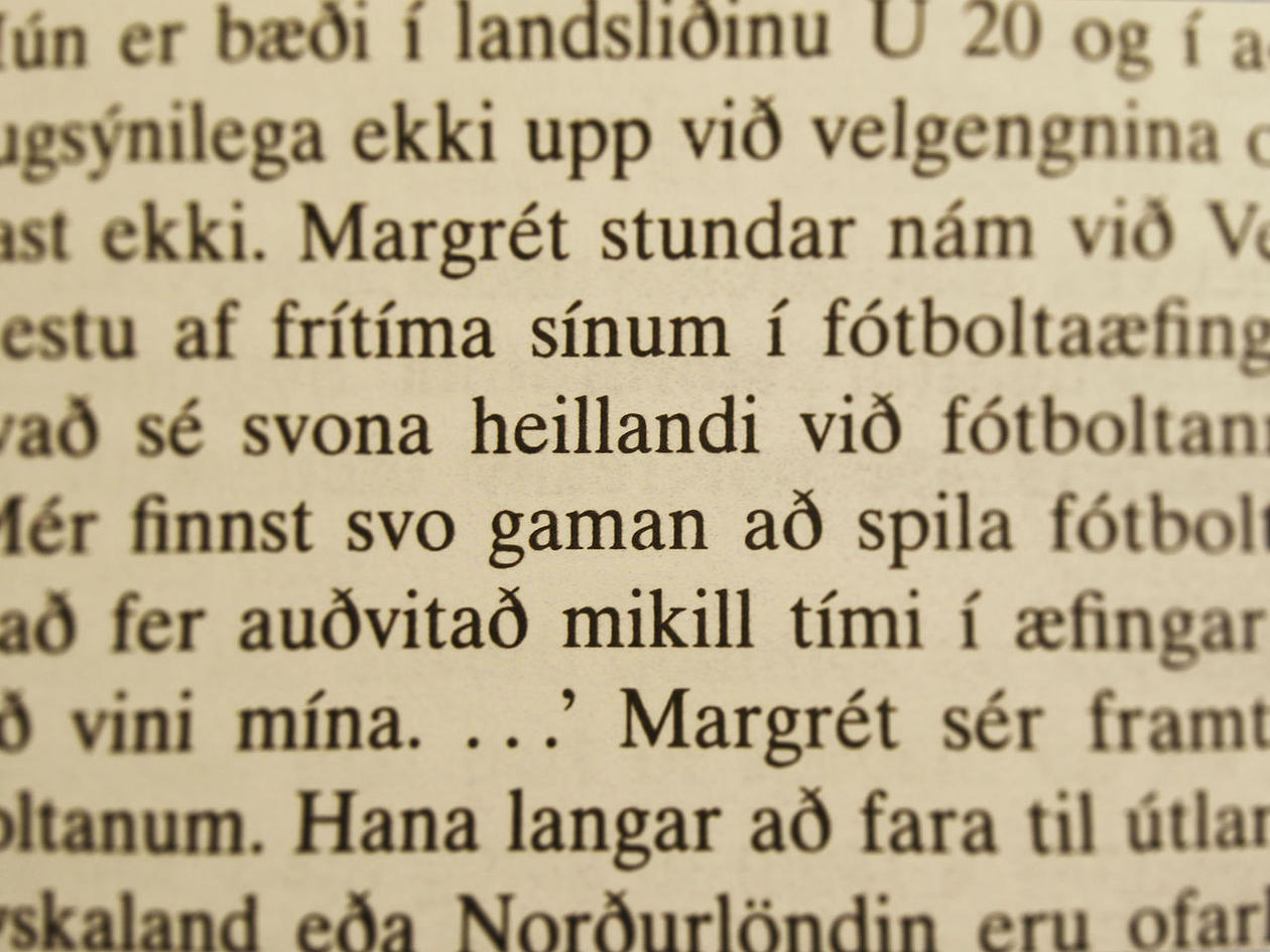 Forskningen til Johanna Barddal startet på det islandske språket, men skal nå...