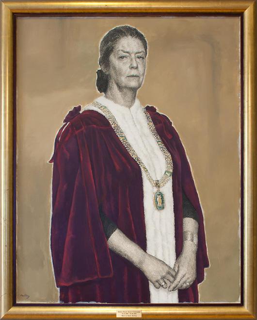 Svein Bolling: Portrait of Kirsti Koch Christensen, 2005.