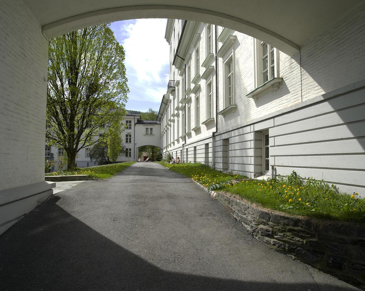 Geofysisk Institutt, detalj.Copyright UiB.