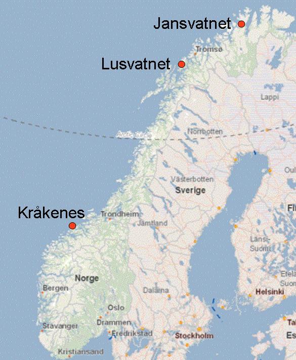 Rapid Lateglacial Climate Changes University Of Bergen - Norway glacier map