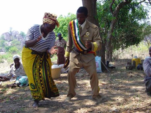 Shona-folkets fruktbarhetsrituale fungerer blant annet som en...