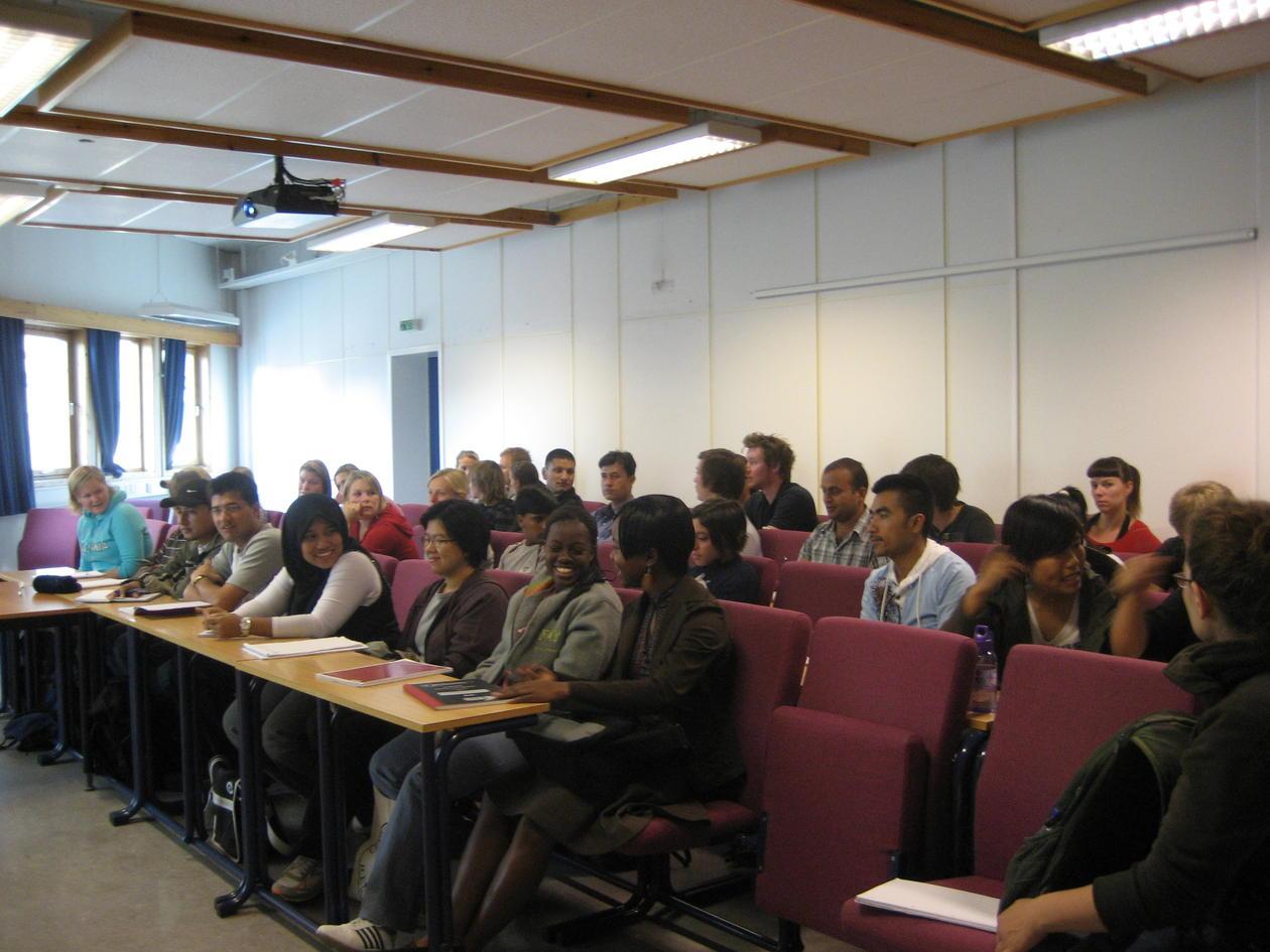 BIO 300 opening meeting 2008