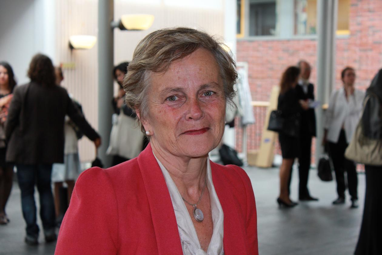 Kjersti Fløttum fotografert på siste dag av Bergen Summer Research School...