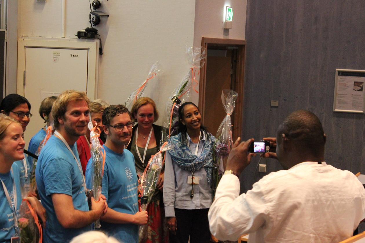 Closing session of the Bergen Summer Research School (BSRS) 2011