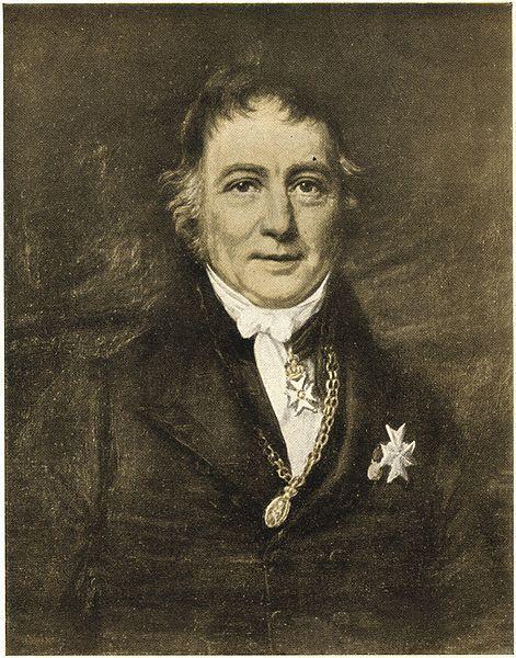 Wilhelm Frimann Koren Christie (1778–1849). Portrettet brukt på norske...