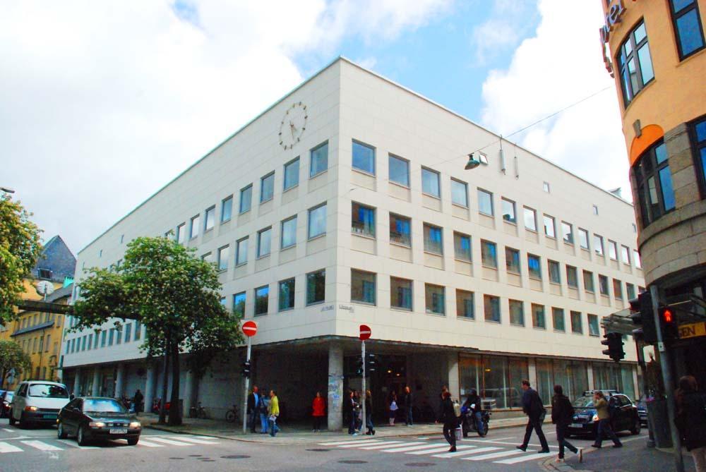 The Bjørn Christiansen Building.