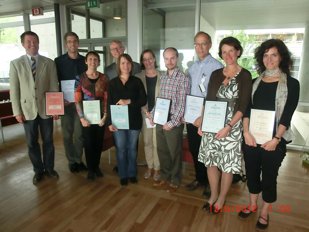 This years research awards were handed out at the Faculty Board Meeting 13....