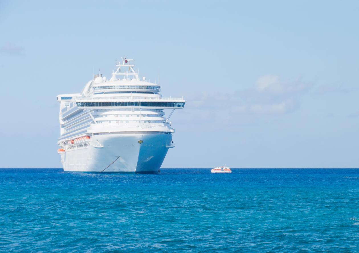 Antallet cruiseturister har tidoblet seg i løpet av de siste tretti årene på...