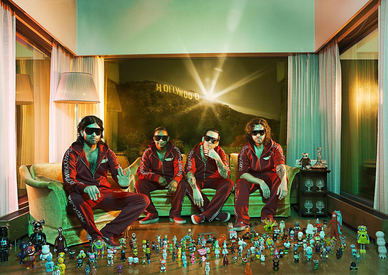 Bergensbandet Datarock ble et internasjonalt fenomen. Mye takket være bandets...