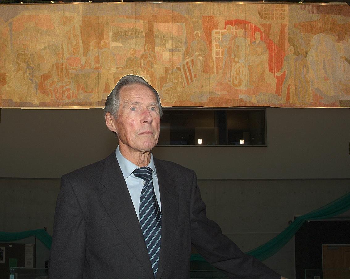 Initiativtaker Per Lund Johansen er glad for at Syrdahls bilde endelig...