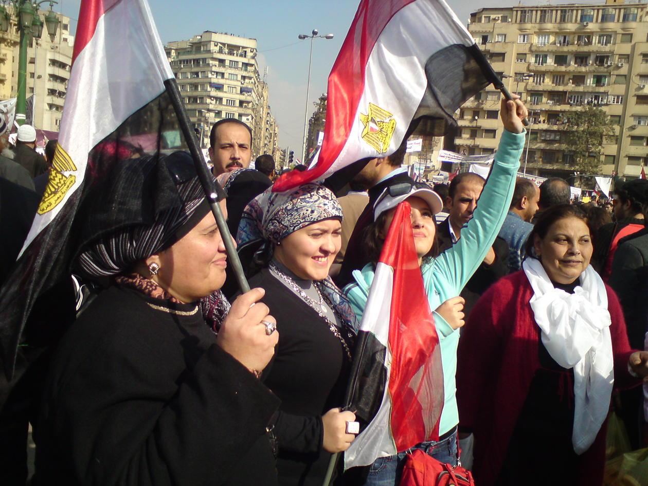 Egyptere har en lang tradisjon med demonstrasjoner og aktivisme, men Facebook...