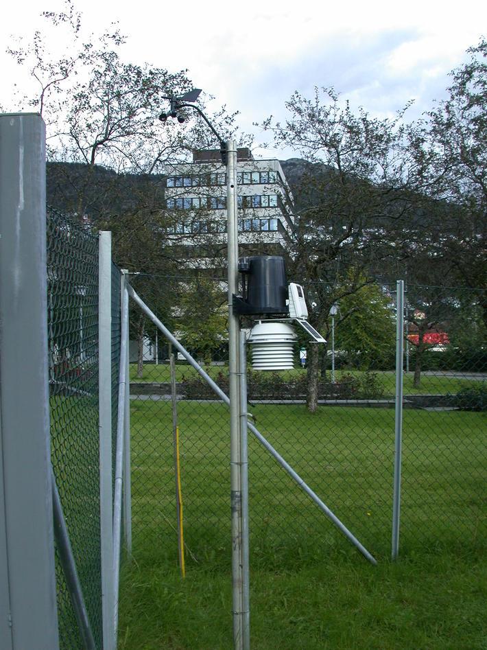 Davis weather station at GFI