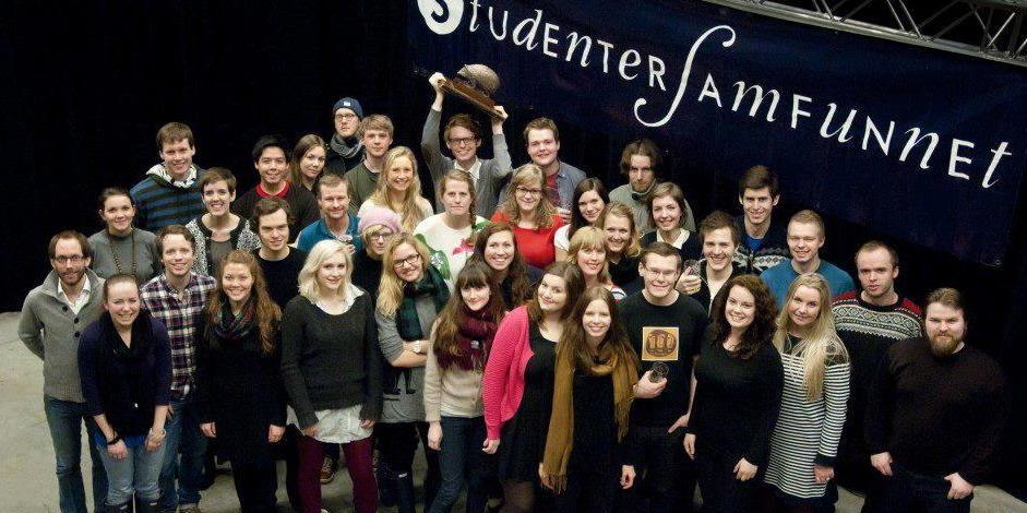 Medlemmer av Studentersamfunnet i Bergen.