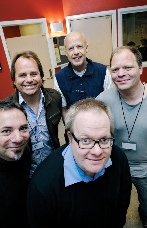 Karsten Specht, Bertil Tungodden, Kenneth Hugdahl, Alexander Cappelen og Erik...