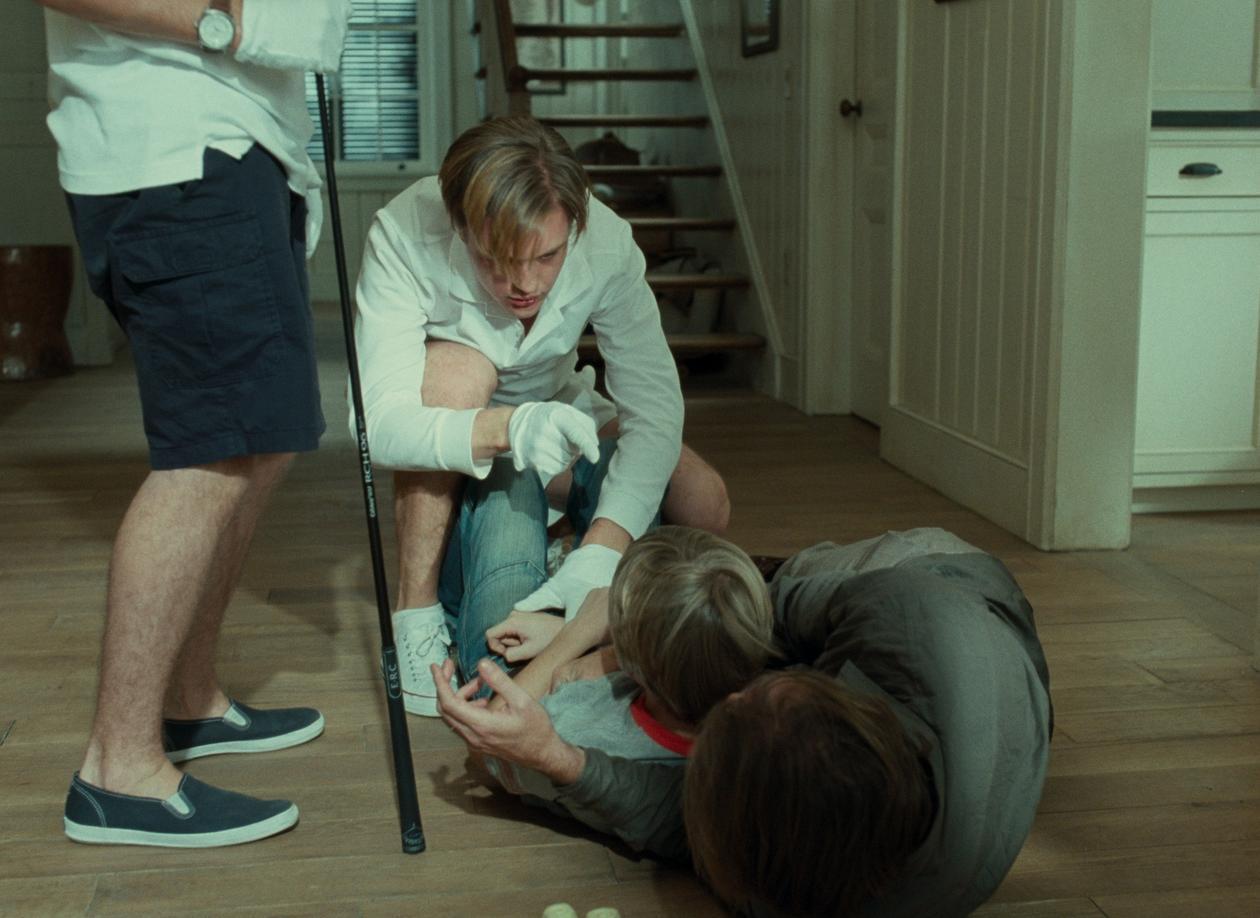 Michael Hanekes film Funny Games er et eksempel på den nye bølgen ekstrem...