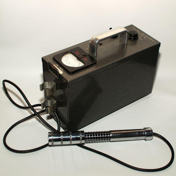 Geigerteller fra begynnelsen av 1960-tallet.