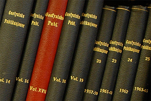 Geofysiske publikasjoner