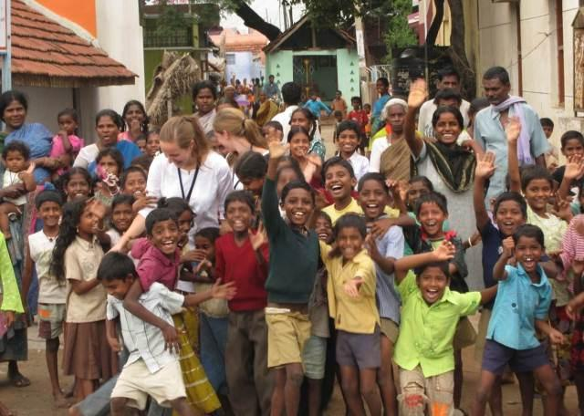 Global helse-studenter i India