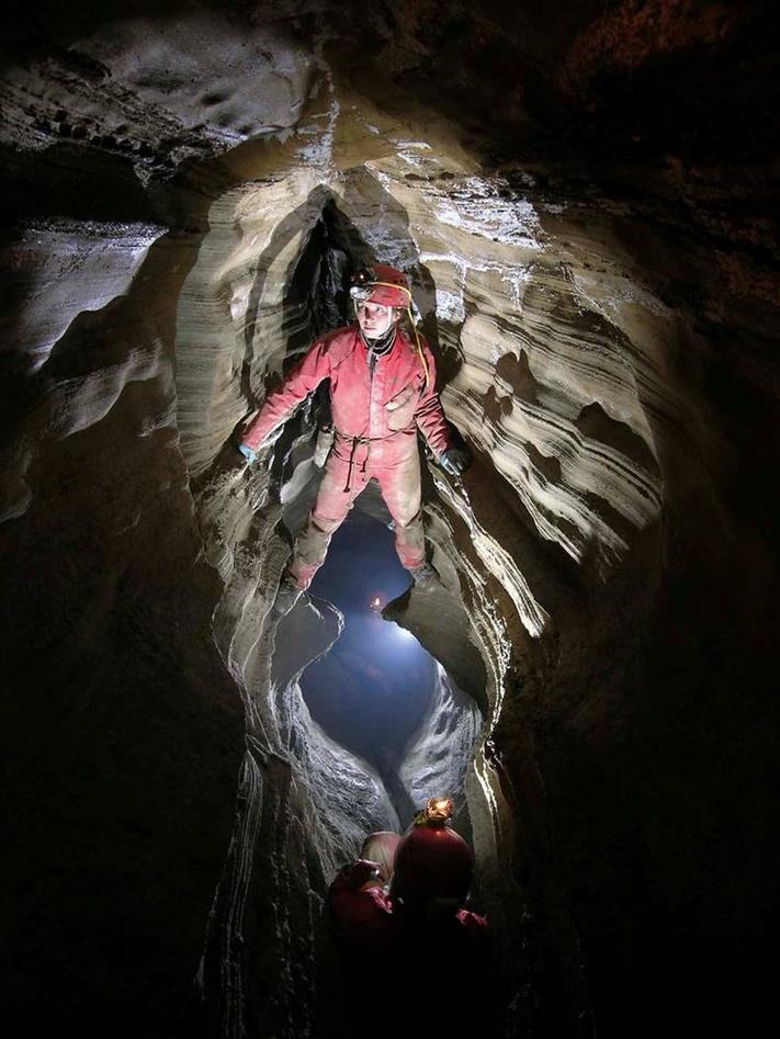 Grotteutforsking i Nordnorge.