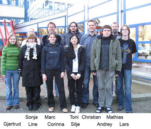 NAD gruppen høsten 2007