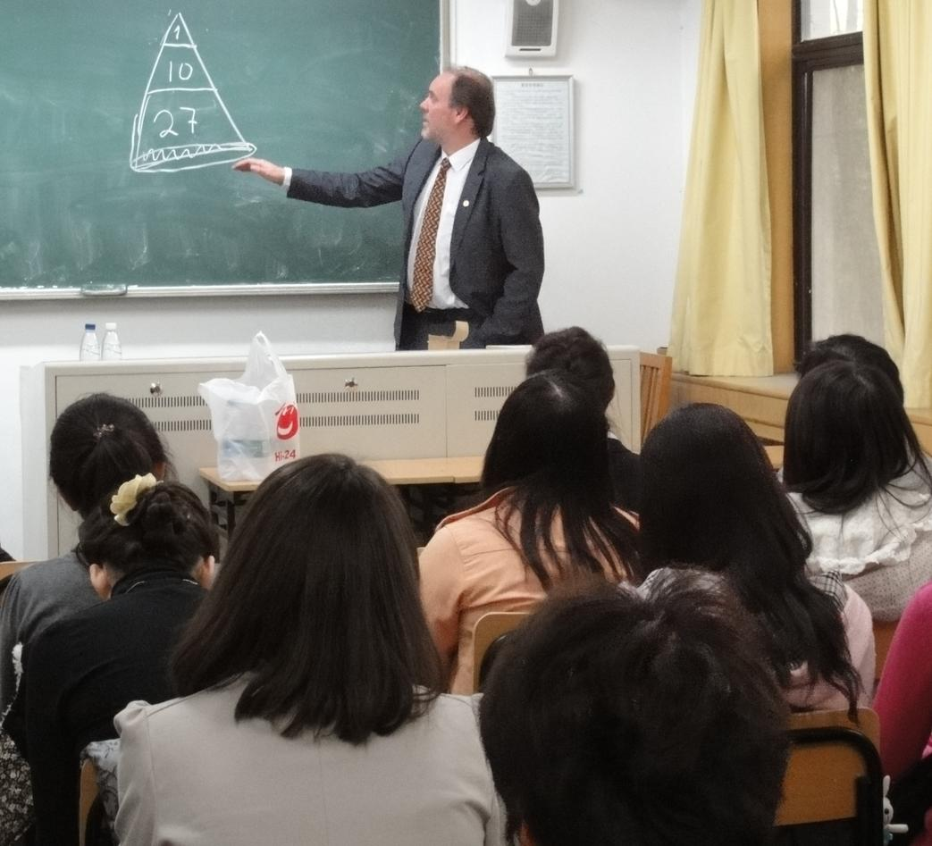 Concentrated Chinese students get an introduction to Norwegian criminal...