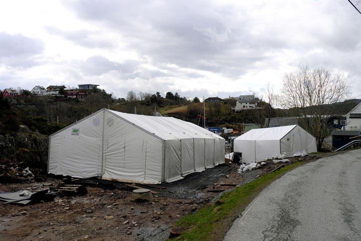 Siden utgravingene startet opp allerede i mars er alle utgravingsfeltene dekt...