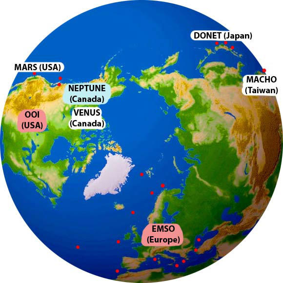 GLOBALT NETTVERK: Havobservatoriet kombinerer fagområde som biologi, geologi,...