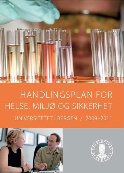Handlingsplan for helse, miljø og sikkerhet 2009-2011.