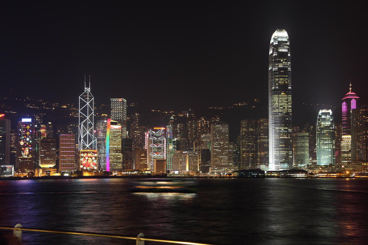 Hong Kong skylight