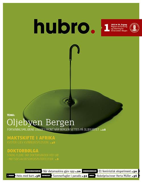 Forsiden på Hubro 01/2013.