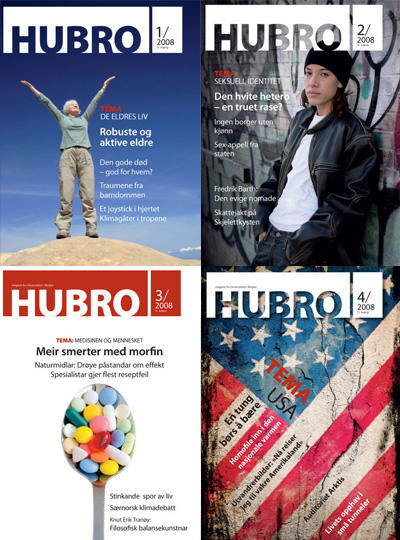 Hubro forsider 2008