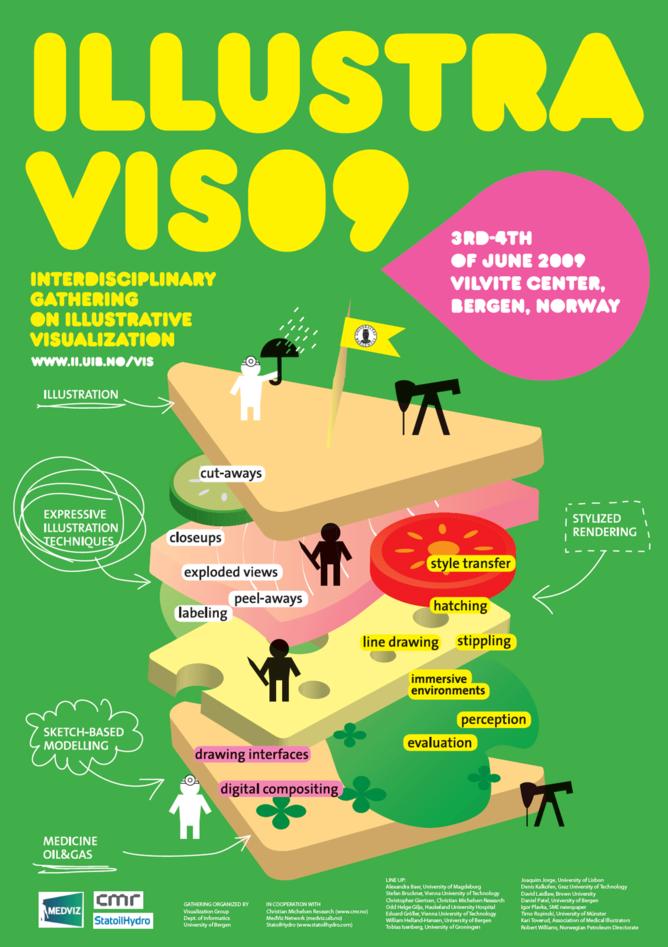 IllustraVis09 - interdisiplinær samling om illustrativ visualisering (3. og 4...