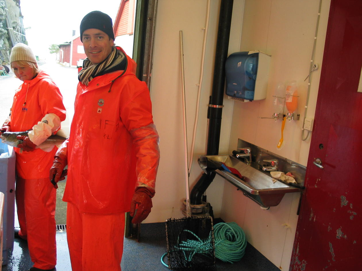 Roland Koedijk organizes the team for collection of final PROCOD samples