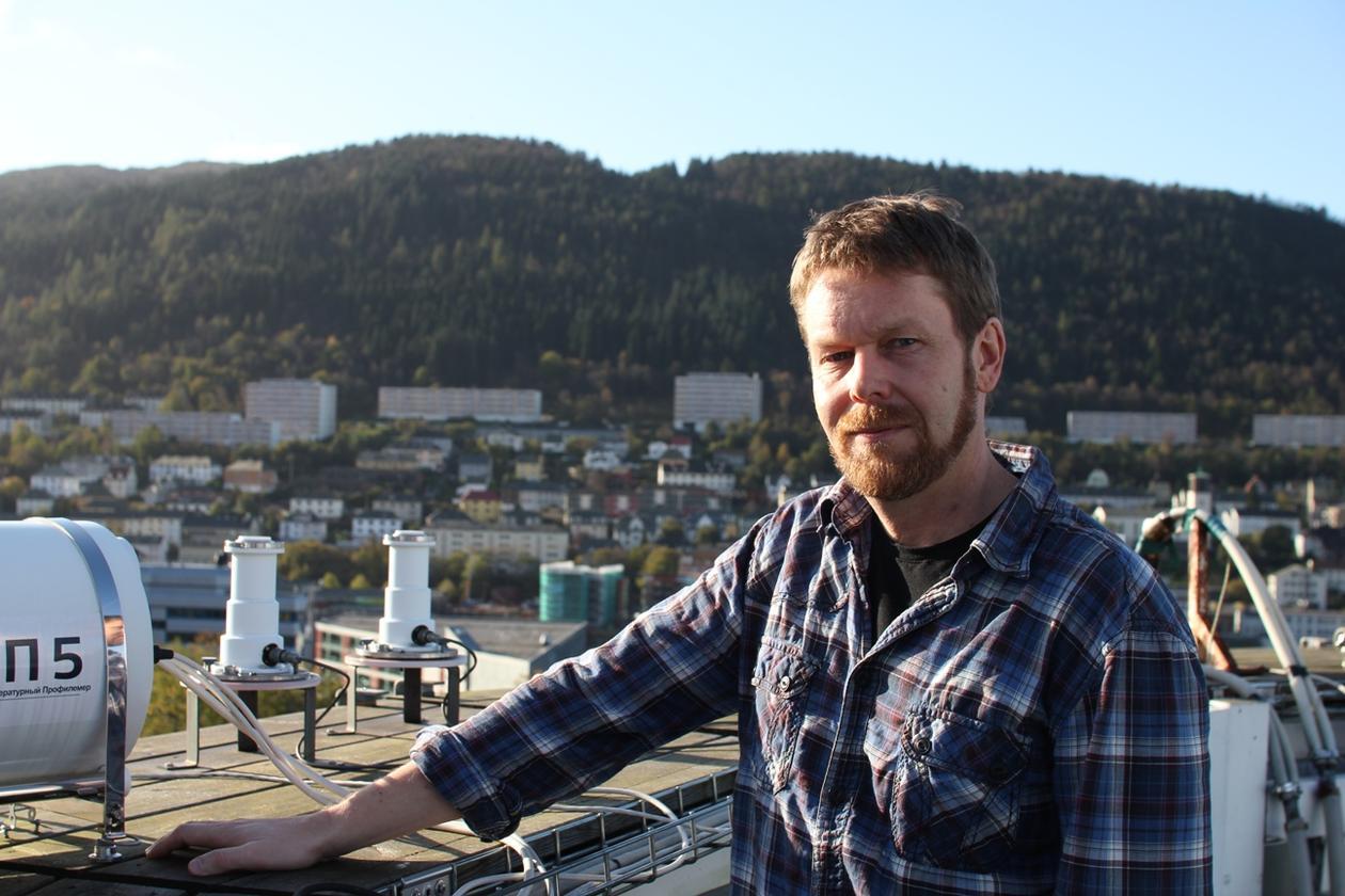 Asgeir Sorteberg fra Geofysisk institutt er årets foreleser på Det matematisk...
