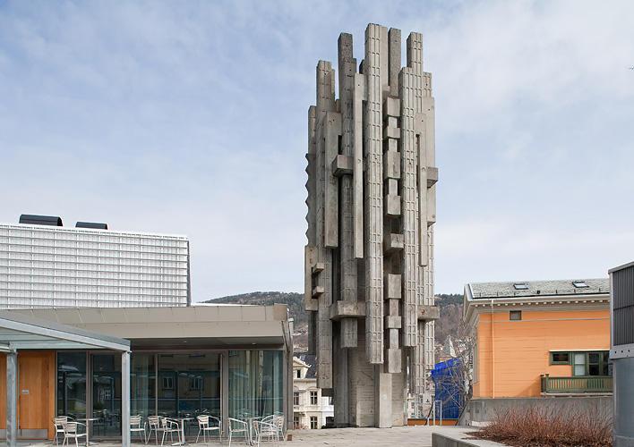 Arne Vinje Gunnerud: Metropolis (Byen), 1974.